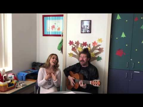 American Idol's Haley Reinhart and Casey Abrams perform at UC Davis Children's Hospital