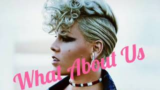 Pink - What About Us (The Official Music Audio)