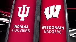 Big Ten Basketball: Indiana at Wisconsin