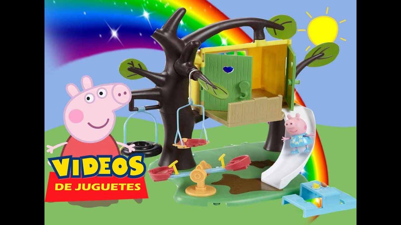 Peppa pig la casa del rbol v deos de juguetes en espa ol youtube - Peppa pig la casa del arbol ...
