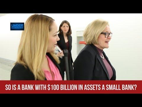 McCaskill Defends Deregulating Banks with Hundreds of Billions in Assets