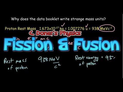 IB Physics: Fission and Fusion