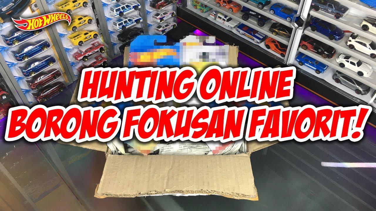 HUNTING ONLINE BORONG FOKUSAN FAVORIT! | HUNTING ONLINE HOT WHEELS