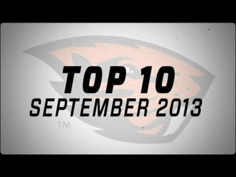 Oregon State Football: TOP 10 - September 2013