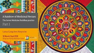 A Rainbow of Medicinal Nectars – NgalSo self-healing practice of the Seven Medicine Buddhas (English – Italian) – 30 March/2 April 2018