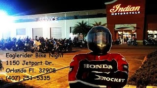 iconic Sport Cycle visits Eaglerider Bike Night Orlando