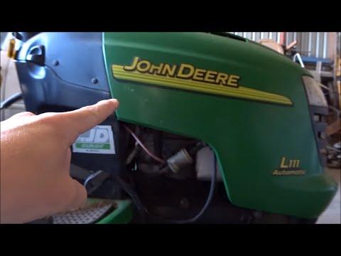 John Deere Deck Belt Replacement
