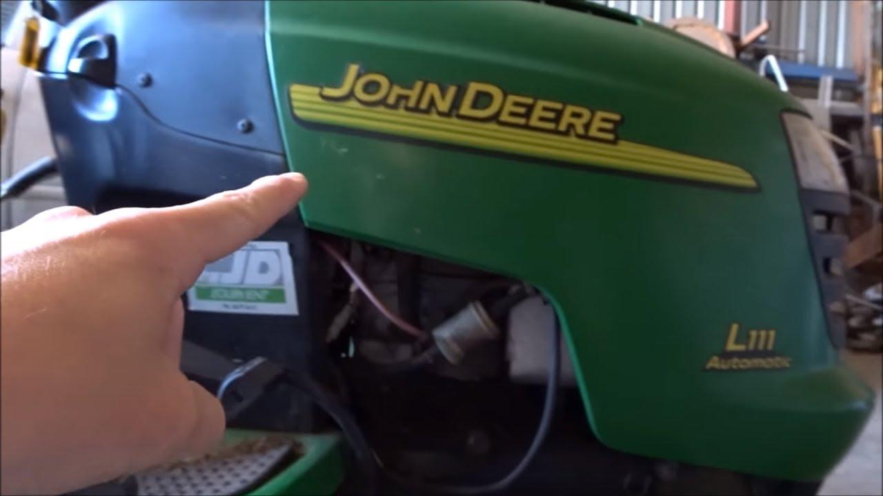 john deere deck belt replacement [ 1280 x 720 Pixel ]