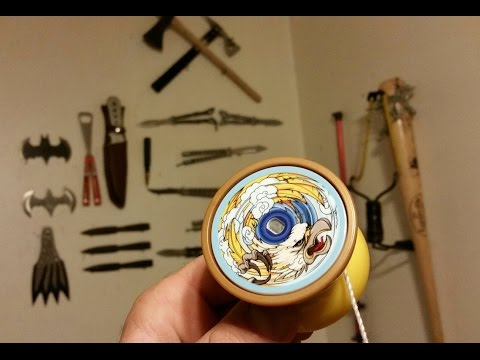 Blazing Team Screaming Eagle Walmart yoyo unboxing and review.