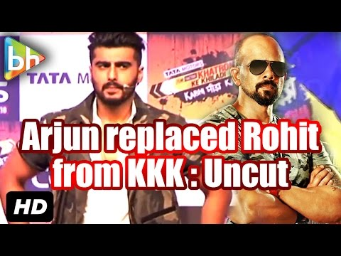 Arjun Kapoor Replaces Rohit Shetty on Khatron Ke Khiladi Season 7 | Event UNCUT