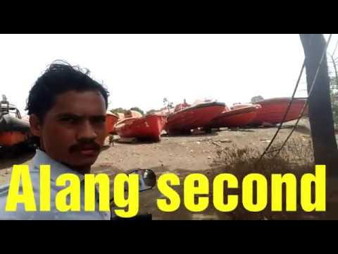 How to Alang second sale boat plot # 21 Vlog
