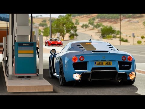 Forza Horizon 3 Noble M600 Gameplay HD 1080p