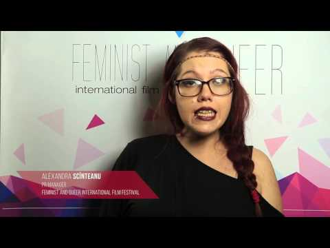 Alexandra Scinteanu, PR Manager Feminist and Queer International Film Festival