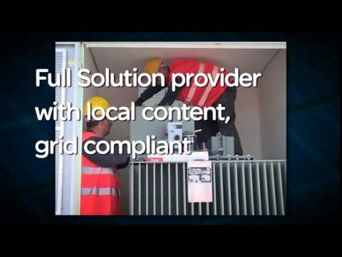 Schneider Electric Solar - Solutions for Photovoltaic Power Plants and Large Commercial Buildings