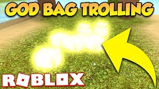 GOD BAG TROLLING (ROBLOX BOOGA BOOGA)
