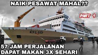 2 Hari 3 Malam Naik Kapal Laut Pelni | Trip KM Kelud Medan - Batam - Jakarta (Part 1)