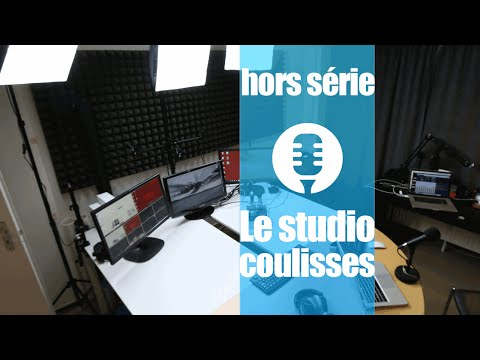 Le studio des Technos (coulisses)