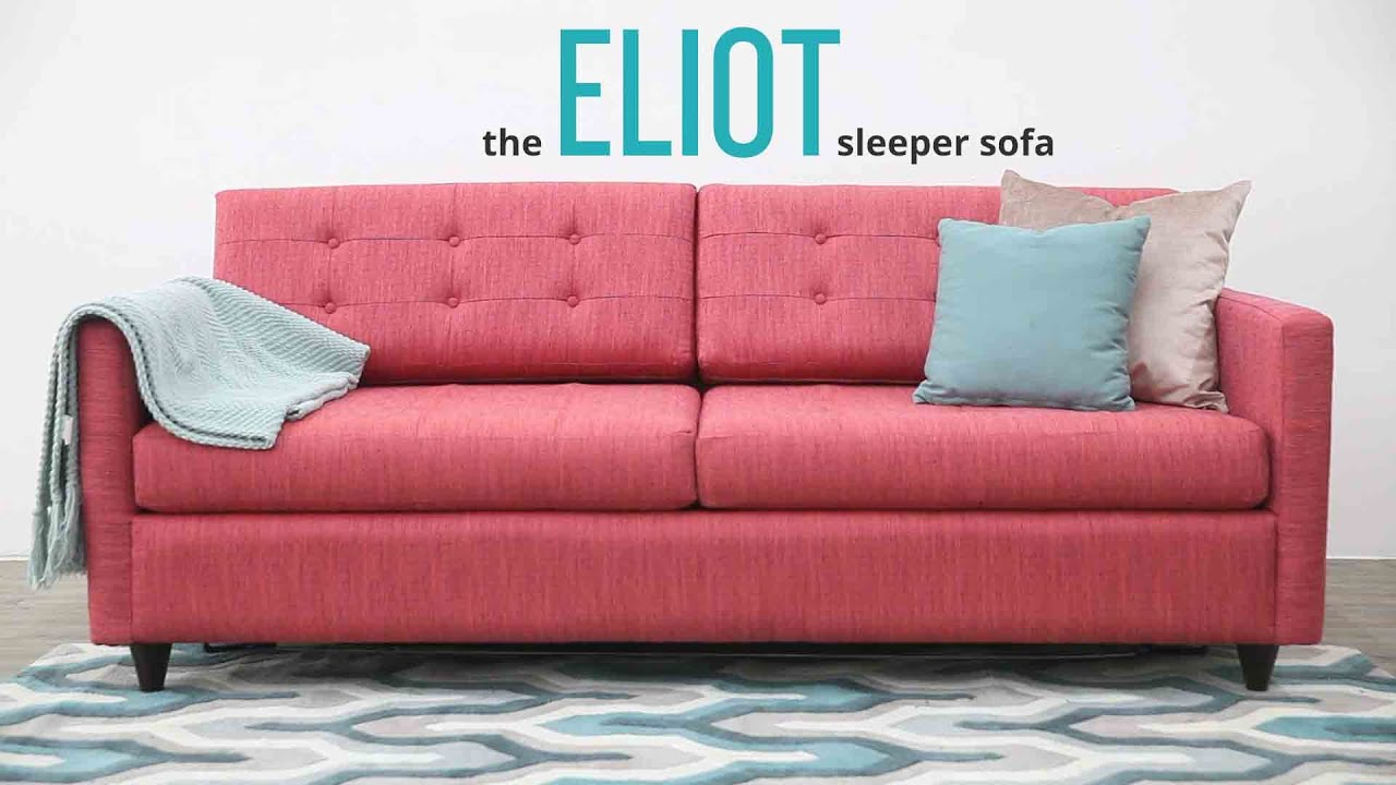 The Eliot Sleeper Sofa By Joybird Furniture