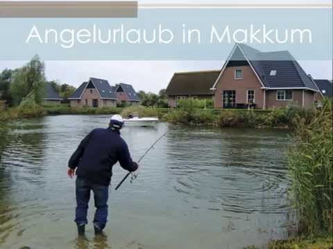 Angelurlaub in Holland: Beach Resort Makkum