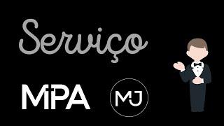 Serviço (MPA/MJ) - Miss. Vinicius Fidalgo