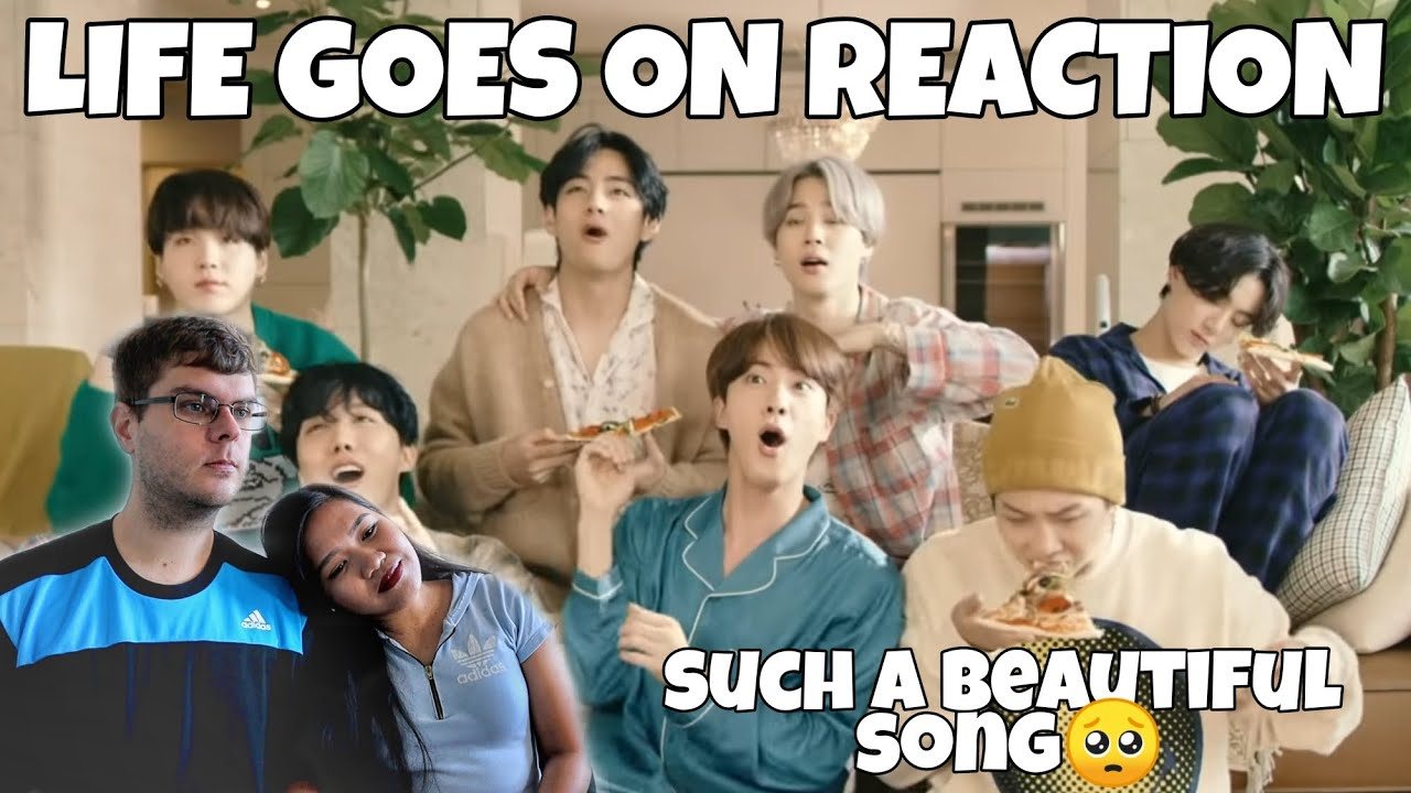 "Bts Ë°©íƒ""소년단 Life Goes On Official Mv Reaction Bts Comeback Yay Youtube See more ideas about bts memes, bts, memes. youtube"