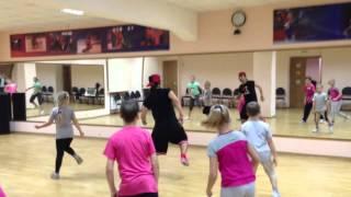 Он-лайн урок в LET'S DANCE CLUB.Дети. Хип-Хоп. Связка №1. Борис Скворцов