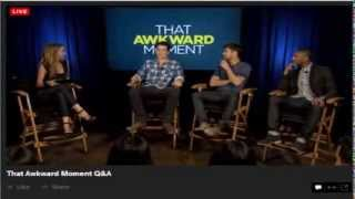 PICK UP LINES. THAT AWKWARD MOMENT - ZAC EFRON, MICHAEL B. JORDAN AND MILES TELLER
