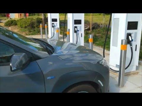 UK First Ionity 350kW Charge Hyundai Kona Electric