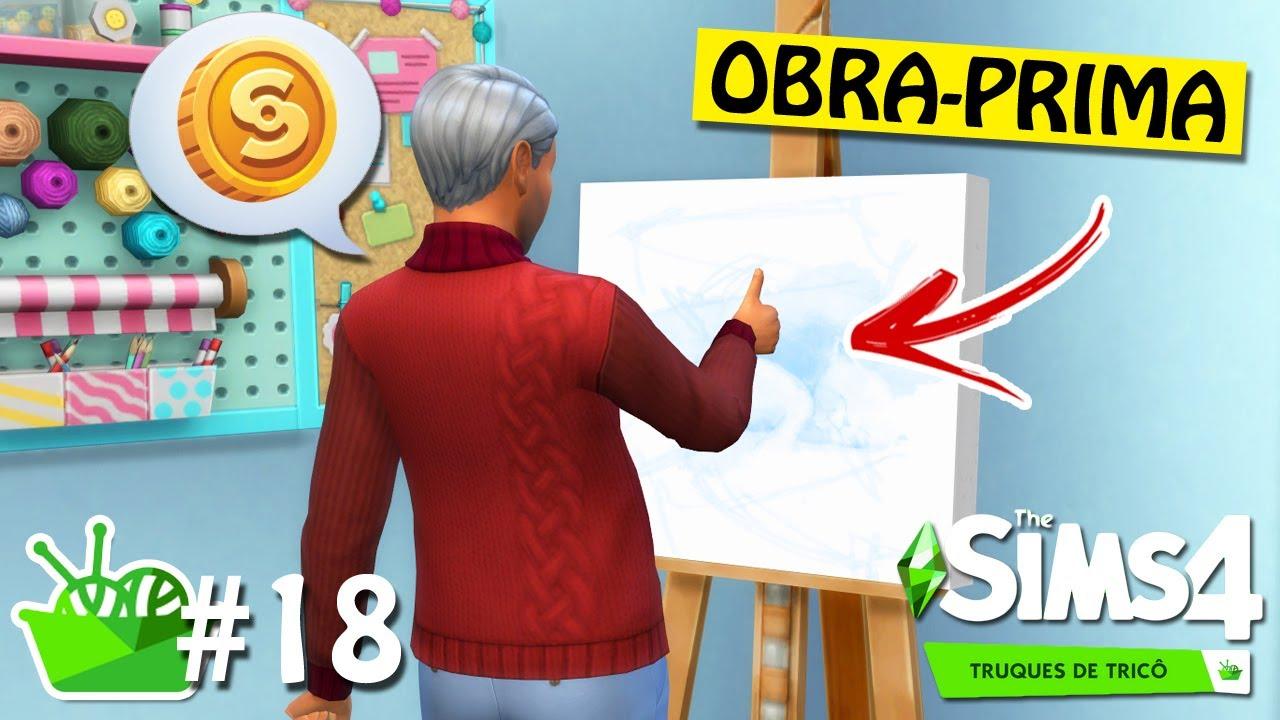 UM PINTOR EXTRAORDINÁRIO #18 - Do Lixo ao Tricô - The Sims 4