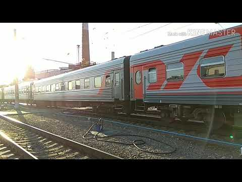 Подача поезда № 037 Воронеж - Санкт - Петербург