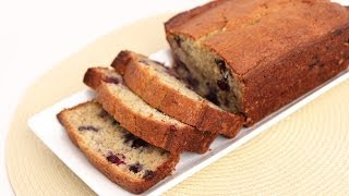 Blueberry Banana Bread Recipe - Laura Vitale - Laura In The Kitchen Episode 736