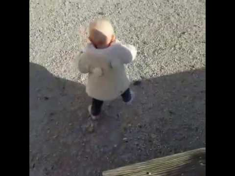 Baby läuft
