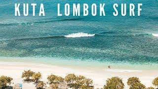 KUTA LOMBOK Surf Seger Beach - Drone Video DJI MAVIC