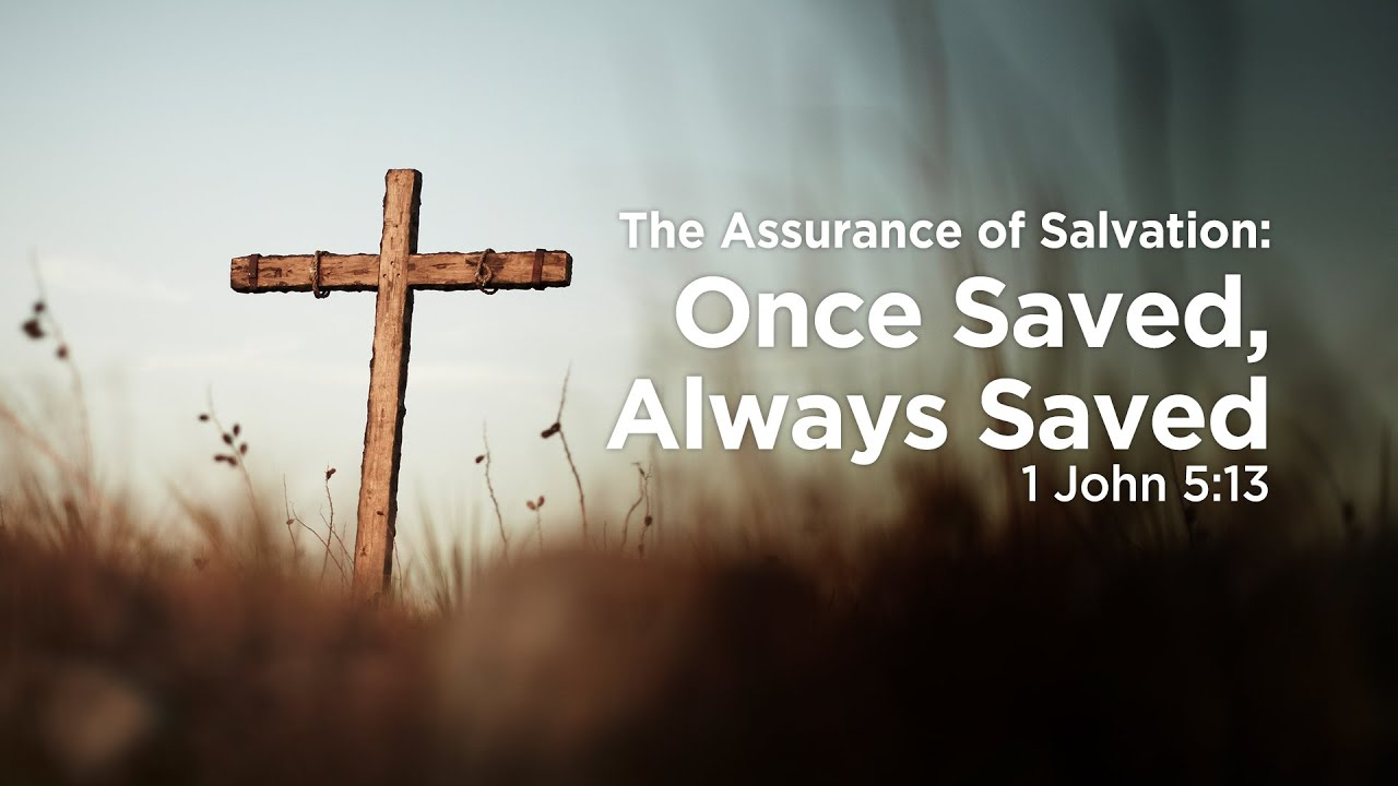 Image result for assurance of salvation