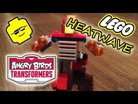 Трансформеры Angry Birds Хитвэйв самоделка лего