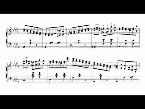 Chopin-Rosenthal: Minute Waltz in Thirds played by Charles Rosen