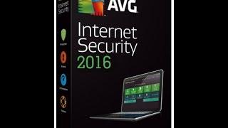 AVG internet security 2016 + serial key until 2018 100% working