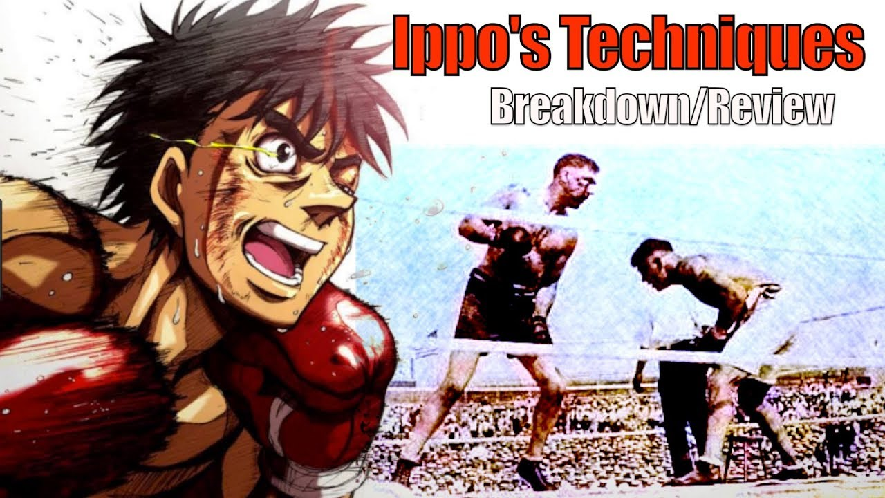 The Real Boxing Techniques Of Hajime No Ippo Explained Review So How Does It Work Mothods In Hipposessionfactory Breakdown