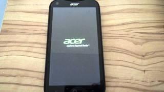 ACER Liquid E2 reset sans arrêt / poor quality product - problems