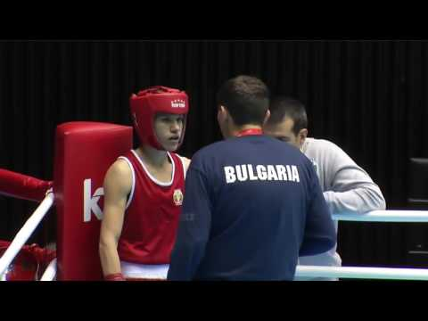 WC 2014: 1/16 - 54 kg   Stanimira Petrova vs Christina Cruz