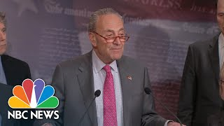Chuck Schumer: Coronavirus Aid Should Be 'Aimed At People, Not At Corporations' | NBC News