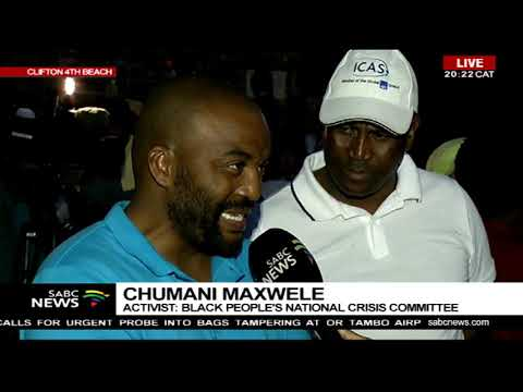 Black People National Crises Committee on Clifton Beach controversy