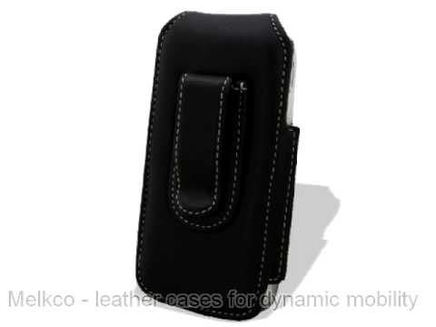 Melkco Leather Case for LG GC900 Viewty Smart - Universal Vertical Pouch