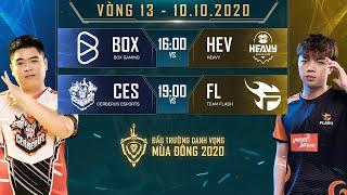 BOX thắng nghẹt thở HEV, FL có thêm 2 điểm trước CES - Vòng 13 Ngày 1 - ĐTDV mùa Đông 2020