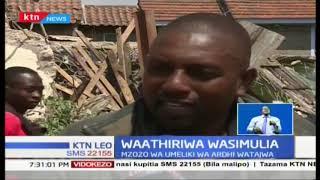 Wakazi wa Komarock wachungulia usiku mwingine wa kulala nje baada ya makazi yao kubomolewa