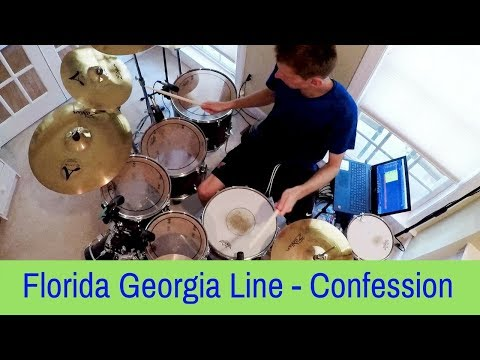 Florida Georgia Line - Confession (Drum Cover) (Live)