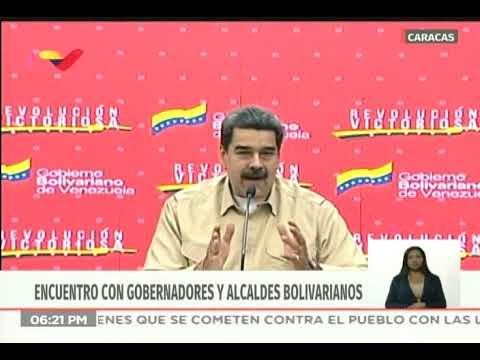 Maduro acusa a Estados Unidos de empujar a Brasil a un conflicto armado contra Venezuela