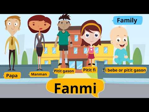 Fanmi (Family in Haitian Creole)
