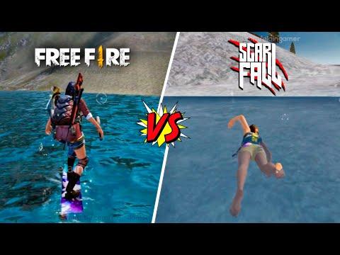 Garena Free Fire vs. Scarfall   Comparison 2020   Ultra Graphics