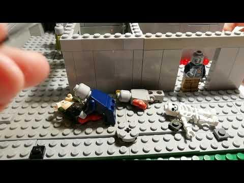Лего самоделка #41 штурм бункера